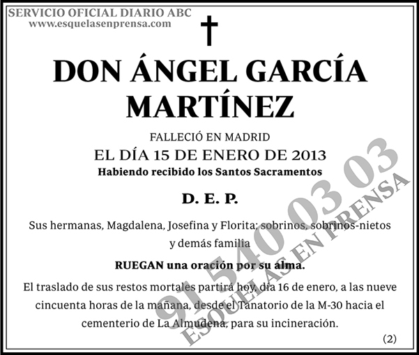 Ángel García Martínez